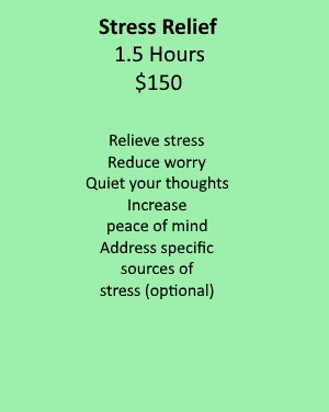 Stress Relief Service